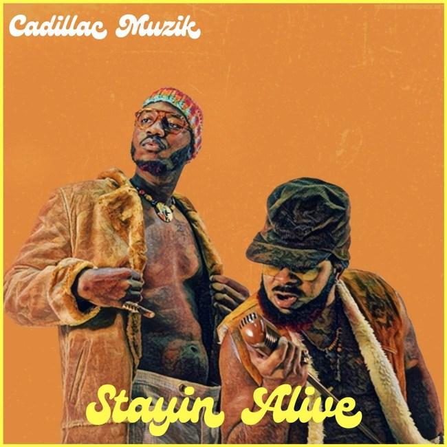 Cadillac Muzik Stayin Alive EP Cover