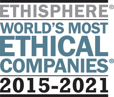 TE Connectivity has been ranked as one of the World's Most Ethical Companies for seven years in a row.
