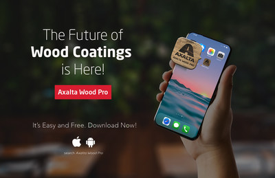Axalta wood customers now have easy access to extensive wood coating information through the Axalta Wood Pro app.