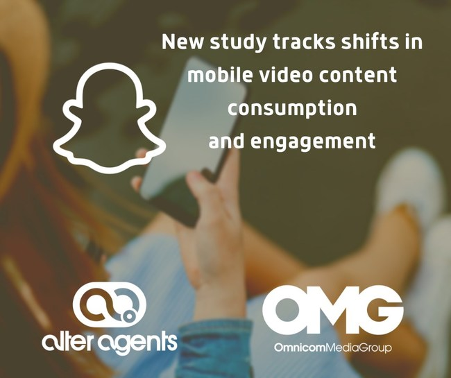 Snap, Alter Agents and Omnicom Media Group release new study on mobile video consumption, engagement and emotional response among Gen Z and millennials.