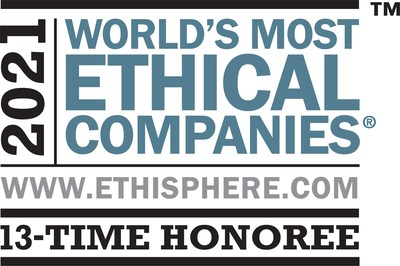 Kellogg Company is being recognized by Ethisphere on its 2021 list of the World's Most Ethical Companies. Kellogg has been recognized 13 times since Ethisphere began the rankings in 2007.