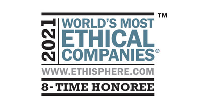 The Ethisphere Institute recognized 3M as one of the World's Most Ethical Companies.