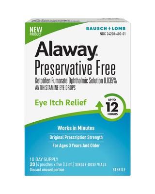 Alaway® Preservative Free antihistamine eye drops