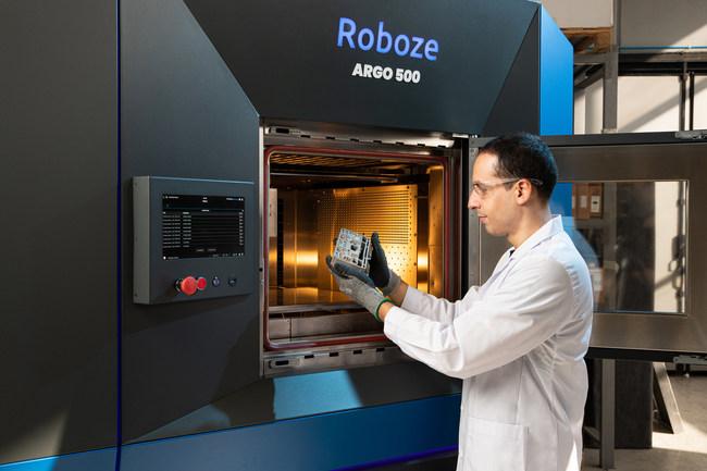 Roboze's Argo 500 3D printer