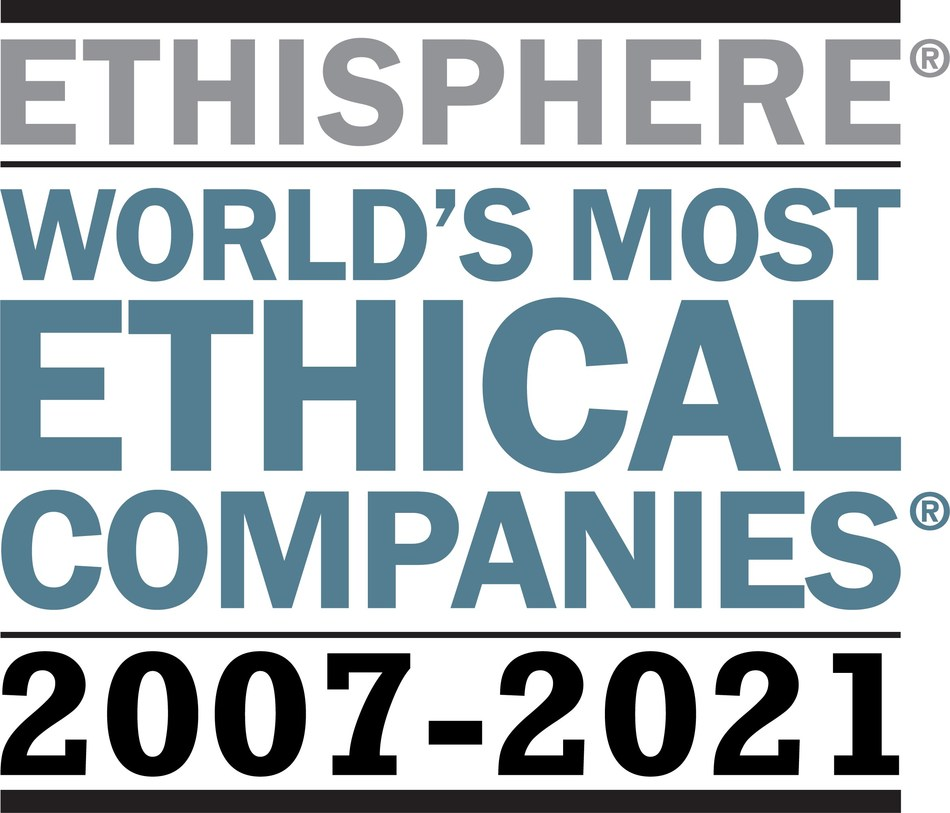 Aflac once again appears on Ethisphere's list of World's Most Ethical Companies. This marks the 15th consecutive year that Aflac appears on this prestigious list, making it the only insurance company in the world to hold this distinction.