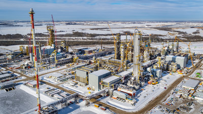 Inter Pipeline's Heartland Petrochemical Complex (CNW Group/Inter Pipeline Ltd.)