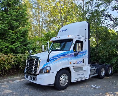 Hydra Energy's hydrogen injection technology will power heavy-duty trucks with waste green hydrogen that would normally be vented into the atmosphere.