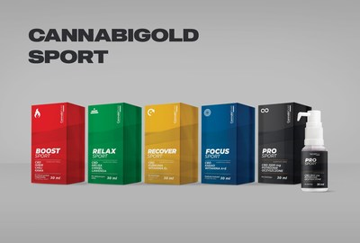 CannabiGold Sport, a new line of hemp-derived CBD supplements designed for sport enthusiasts (CNW Group/The Green Organic Dutchman Holdings Ltd.)