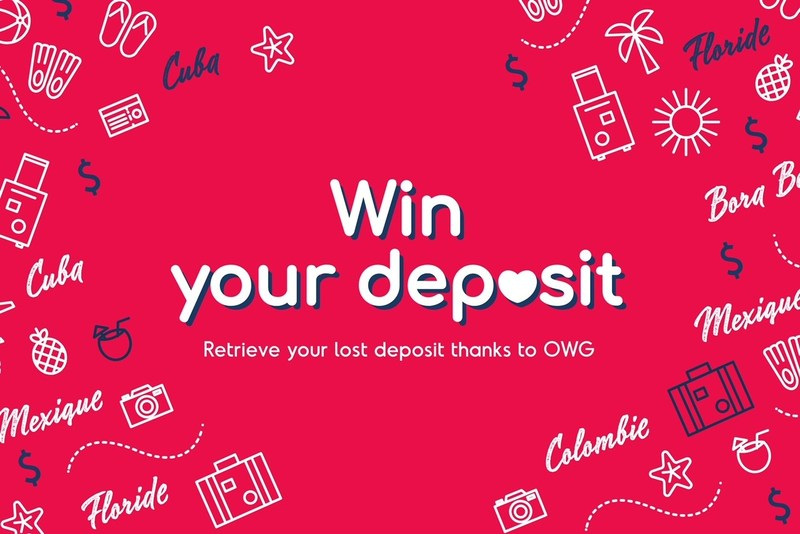 OWG Offering Travelers a Chance to Win Their Lost Deposits (CNW Group/OWG)