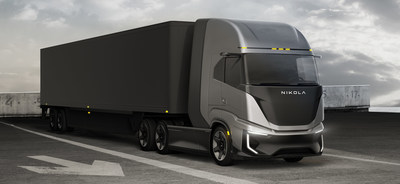 The Nikola Tre FCEV Cabover is targeted for distances up to 500 miles, and is expected to address the majority of the North American regional market, especially use cases where additional freight hauling capacity and quick fueling are required by fleet operators.