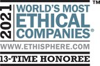 Paychex Commitment to Corporate Social Responsibility Recognized with 'World's Most Ethical Companies 2021' Honor