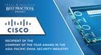 思科在亚太电子邮件安全领域的强势领导地位受到Frost &沙利文