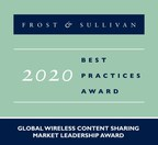 Barco Applauded by Frost & Sullivan for its Continued Domination of the Wireless Content Sharing Market