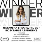 "Natausha Spears, RN, BS of Injectable Aesthetics Receives ""Top Injectors Midwest"", ""Top Women in Aesthetics"" and more in the Aesthetic Everything® Aesthetic and Cosmetic Medicine Awards 2021"
