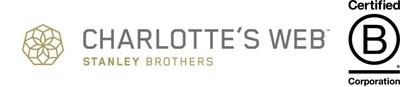 Charlotte's Web is a Certified B Corp company. (CNW Group/Charlotte's Web PR Marketing)