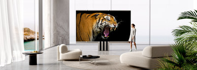 The C SEED M1 - The World´s First Foldable 165-inch Micro LED TV, Credit: C SEED