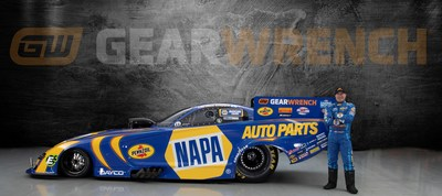 GEARWRENCH will partner with Don Schumacher Racing to serve as the official tool supplier of NHRA driver Ron Capps and the NAPA AUTO PARTS Funny Car team in 2021.