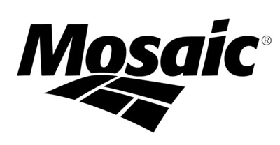 The Mosaic Company (NYSE: MOS) is the world's leading integrated producer of concentrated phosphate and potash – two of the three most important nutrients in agriculture.