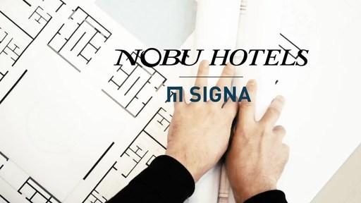 Ouverture de l'hôtel restaurant Nobu dans l'Elbtower d'Hambourg, en Allemagne, avec SIGNA Real Estate