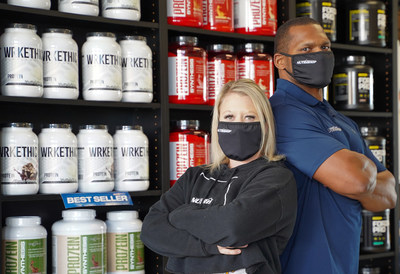 Amy & Bryce Bullman - Nutrishop Store Owners