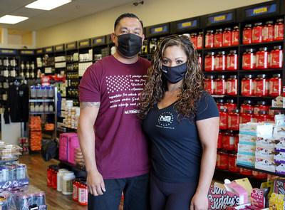Mark & Sabrina Enriquez - Nutrishop Store Owners