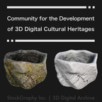 StockGraphy Launches 'Community for the Development System of 3D Digital Cultural Heritages'