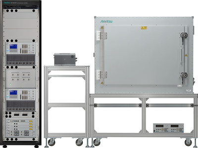 The Anritsu ME7834NR 5G NR Mobile Device Test Platform powered by Qualcomm Snapdragon X60 5G Modem-RF System verified the first EPS-FB Protocol Conformance test for 5G NR.