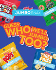 National Snack Day Gets Cereal-ously Better With A New Kellogg's® Jumbo Snax Mystery Flavor