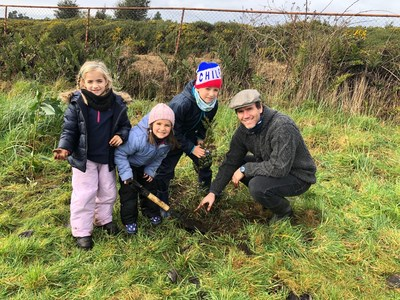 Reforestation is a family affair during Trees & Seas