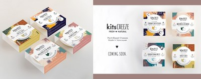 KitsCheeze Product Line (CNW Group/Modern Meat Inc.)