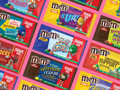 M&M'S® MESSAGES RETURN TO INSPIRE CONNECTIONS THROUGH THE POWER OF LAUGHTER AND MUSIC ON SPOTIFY – BRINGING BETTER MOMENTS & MORE SMILES
