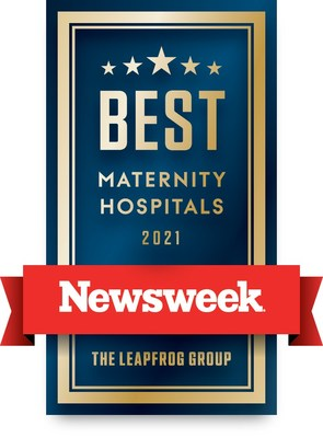 """MemorialCare Saddleback Medical Center is one of only two hospitals in Orange County, Calif. recognized on Newsweek's """"Best Maternity Hospitals 2021"""" list. This high honor highlights hospitals that provide exceptional care to mothers, newborns and their families."""