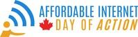 Canadians Need Affordable Internet. Canadians pay some of the highest prices in the world for internet and mobile service. Join our Virtual Day of Action. (CNW Group/Affordable Internet Day of Action)