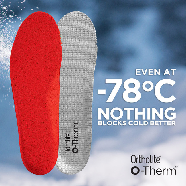 OrthoLite unveils O-Therm™ as the ultimate cold-weather footwear solution