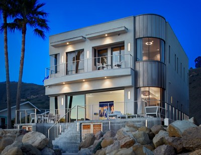Actor Bryan Cranston Lists Beachfront Net Zero Carbon Footprint Home with Coldwell Banker Realty for $4.995 Million. Photographer: Jake Cryan