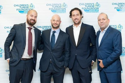 Colbeck Capital Management team pictured here at the Children's Tumor Foundation (CTF) Benefit Gala in October 2016. (L to R: David Aho, Jason Colodne, Jason Beckman, Morris Beyda.)