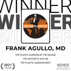 "Frank Agullo, MD Receives ""Top Plastic Surgeon of the Decade"" and ..."