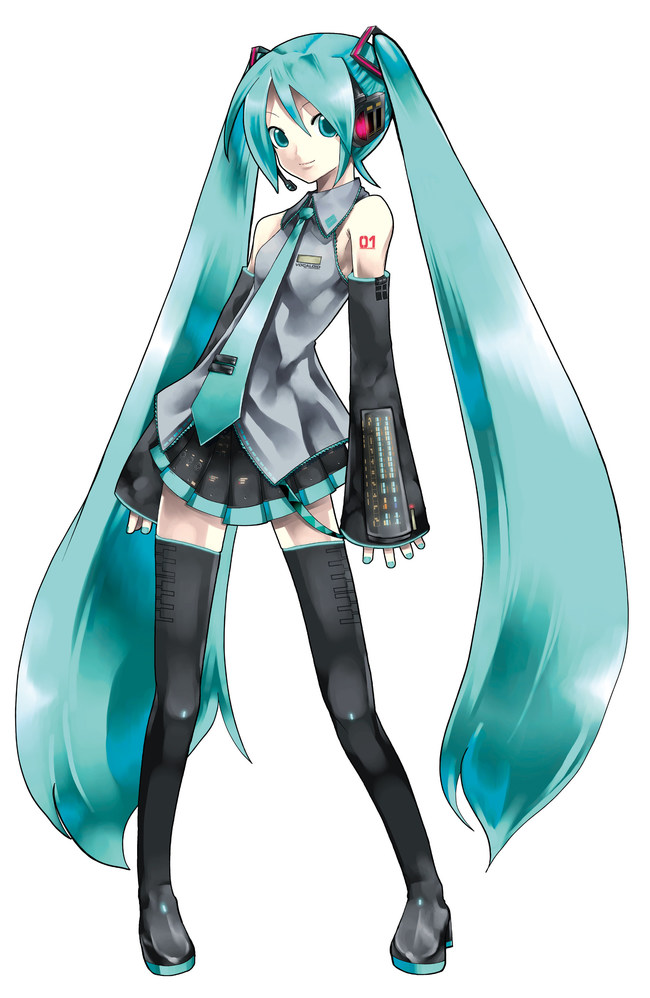 HATSUNE MIKU - THE VIRTUAL GLOBAL POPSTAR ANNOUNCES DEVELOPMENT OF A NEW ANIMATED TV SERIES WITH GRAPHIC INDIA (PRNewsfoto/Graphic India)