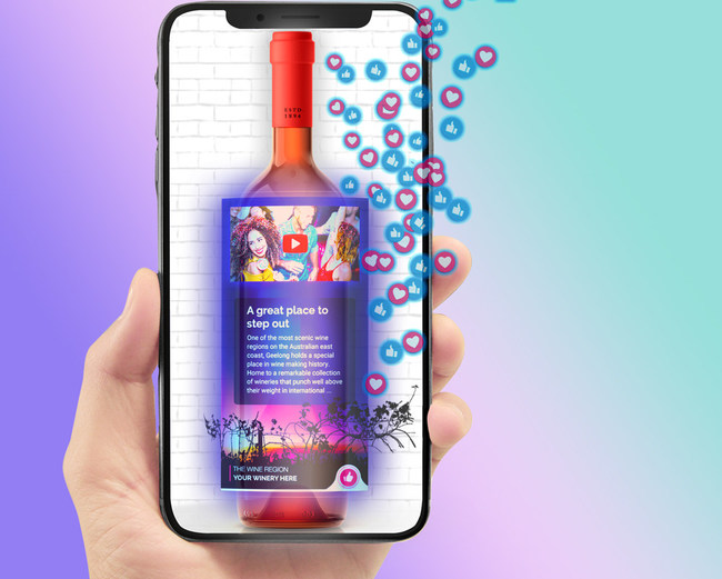 Augmented Reality Wine Platform - Winerytale
