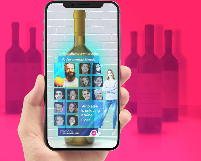 Winerytale - AR Wine Label App Demonstration