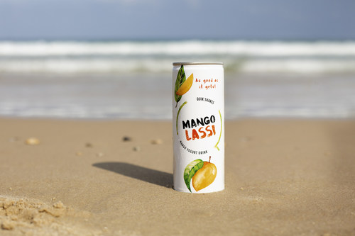 Stay cool with a refreshing and ready to drink Mango Lassi Quik Shake from Quikfoods. Grab a chilled can and experience a traditional Indian drink like no other!