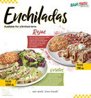 Baja Fresh Adds Enchiladas to its Menu for a Limited Time