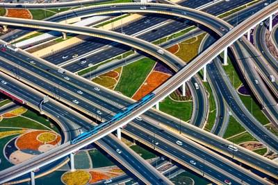 Concrete Infrastructure Professional winner: Nishar Mohammed @nisharmohammed -  Sheikh Zayed Road, Dubai