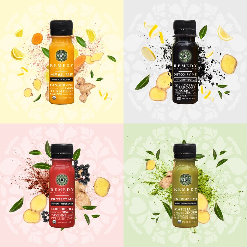 Remedy Organics expands into the wellness shot category with the launch of Immunity+ Shots.