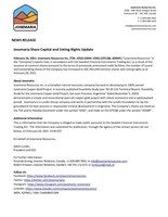 Josemaria Share Capital and Voting Rights Update (CNW Group/Josemaria Resources Inc.)