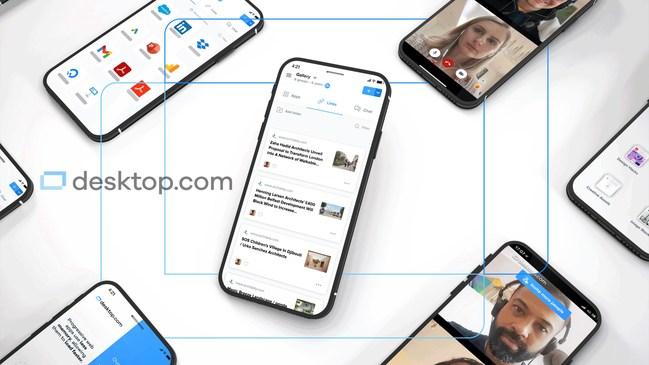 Desktop.com - Amplifies momentum for the way teams work today.