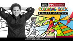 PHIT America Announces $10,000 Coloring Contest Featuring the Work of International Artist Romero Britto