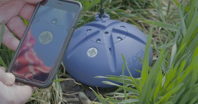 CropX's self-installed sensors transmit soil data directly to the cloud, to be analyzed by CropX's platform