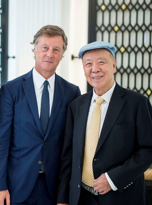 Mr. Sébastien Bazin, Chairman and CEO of Accor meets with Dr. Lui Che Woo, Chairman of GEG