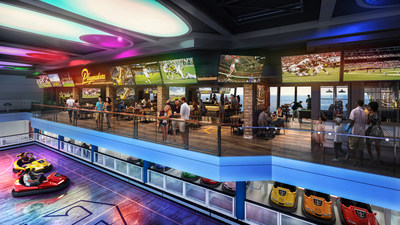 Odyssey of the Seas will combine the best of Quantum Class with new Royal Caribbean favorite Playmakers Sports Bar & Arcade, now boasting a prime location within SeaPlex. With TVs at every angle to cheer on the home team and club-level views of the competition below, sports fans won't miss a beat. Odyssey debuts in Haifa, Israel in May 2021 and then heads to Fort Lauderdale, Florida in November.